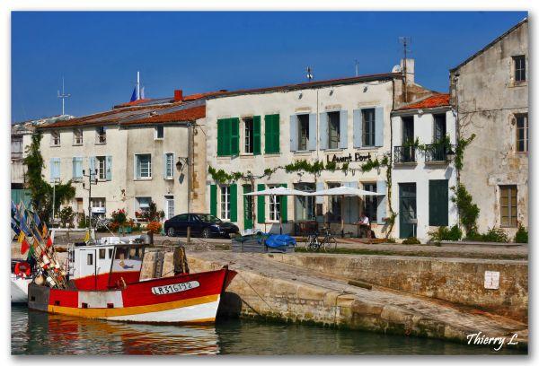 Le port de Saint Martin en Ré