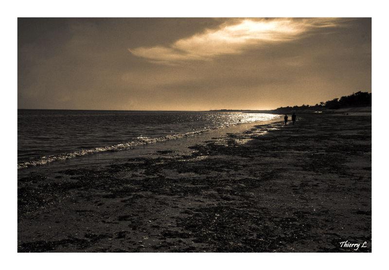 La plage de la Couarde