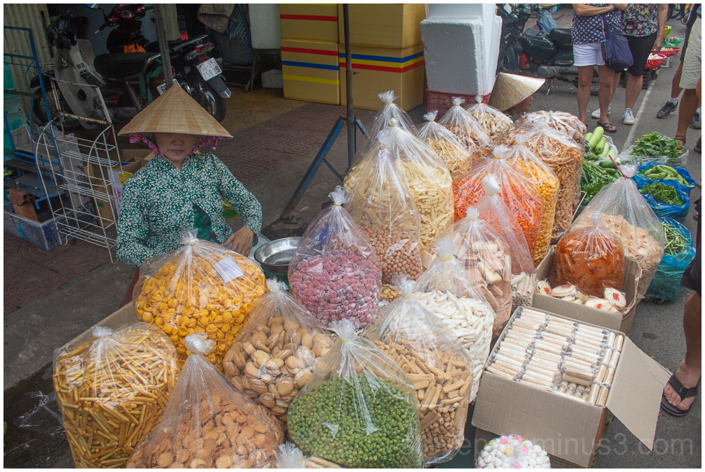 Vietnamese Market stall holder