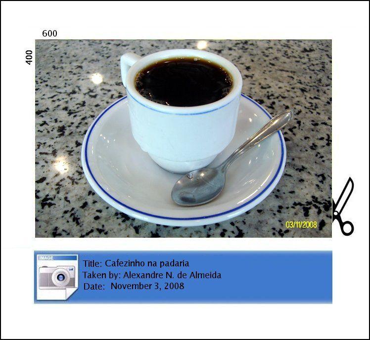 cup of coffee cafezinho xícara de café
