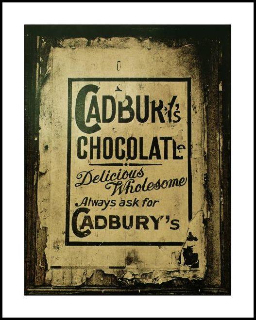 Westland Row Train station Cadbury Poster