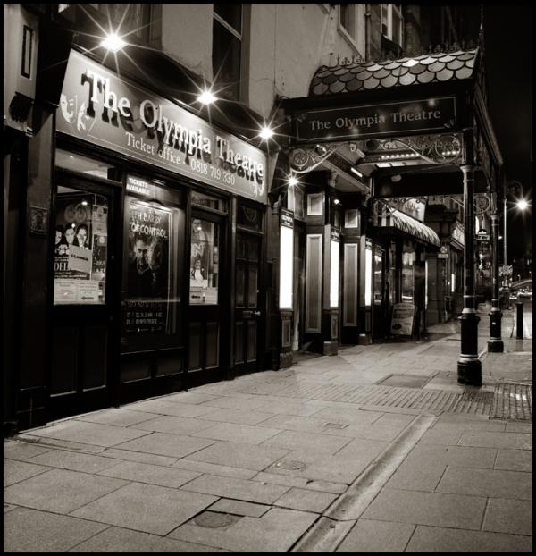Dublin by night Olympia Theatre
