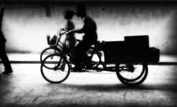 Bikers in Yangshuo