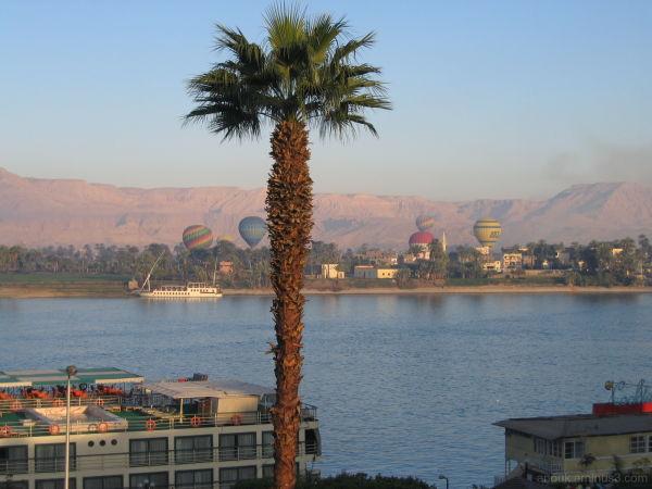 Vue sur le Nil