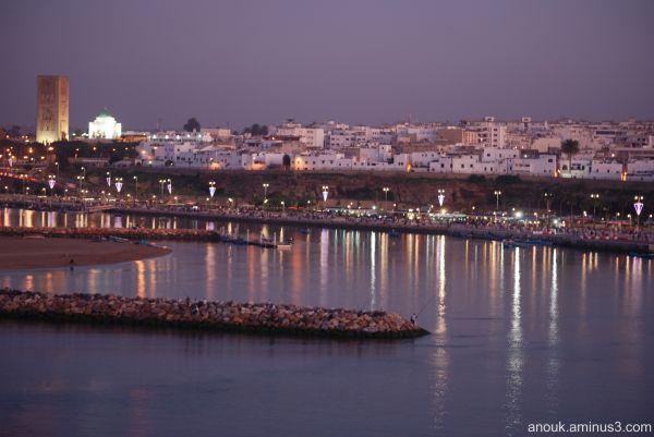 Rabat by night
