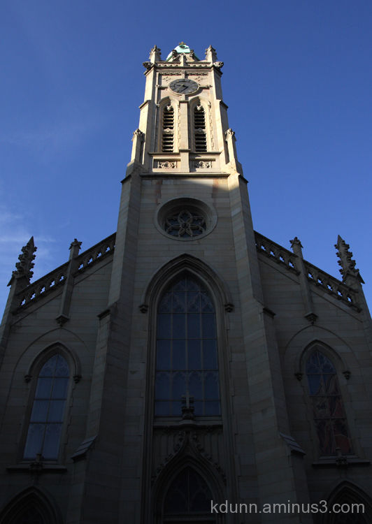 St. Francis Xavier Church in Cincinnati.