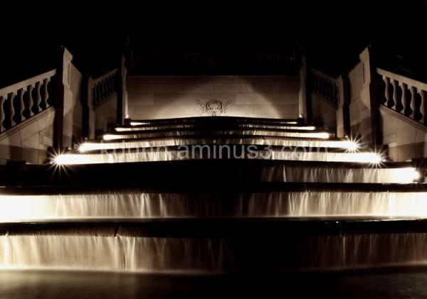 Fountain at Ault Park Pavillion