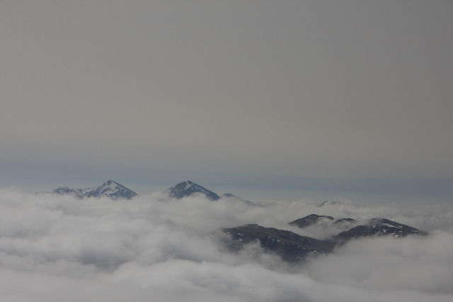 Inversion looking over to Ben Mor