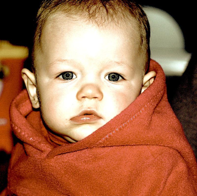 Uma, 14 months old