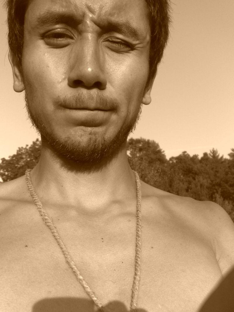 Working in the sun