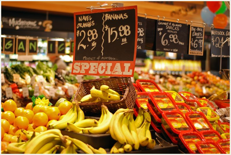 expensive bananas on special