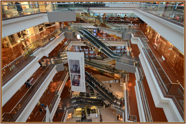 Shopping Mall in Hong Kong