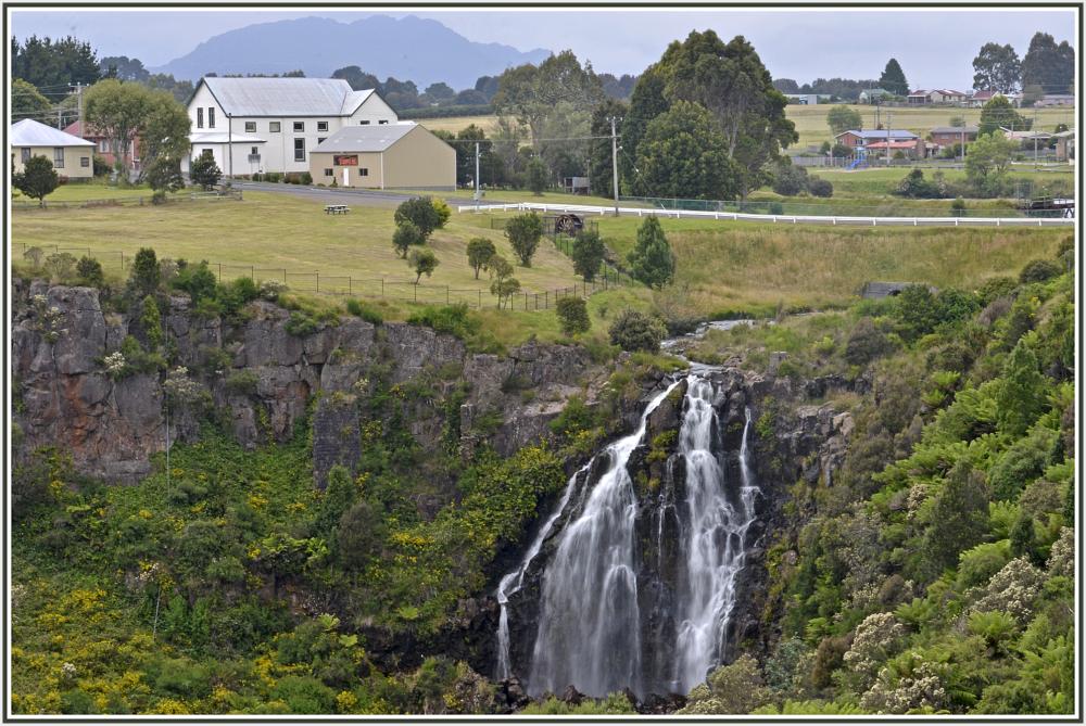 waterfall in Waratah, Tasmania