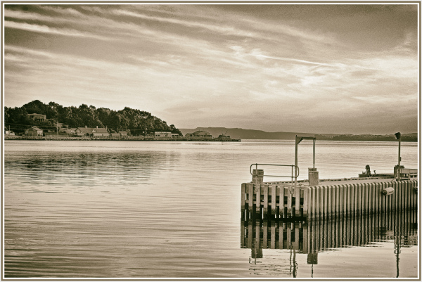 Strahan harbour, Tasmania
