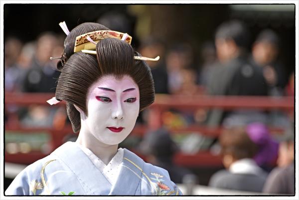 Classical dancer in Tokyo