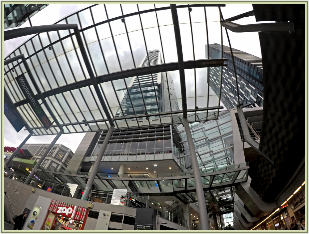 Wide angle view with a GoPro in Chatswood, Sydney