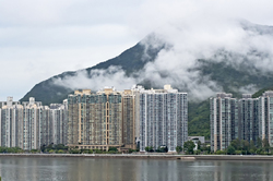 mist in Shatin, Hong Kong