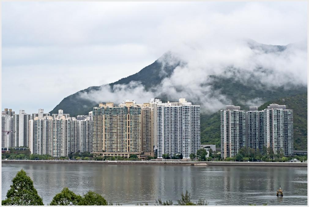 mist in Shatin, Hong Kong