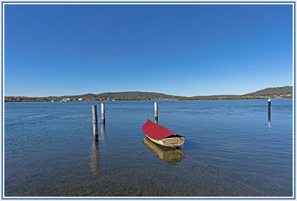 Boat in Woy Woy