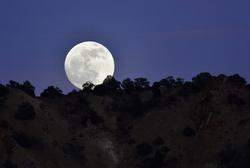 full moon in Reno Nevada US