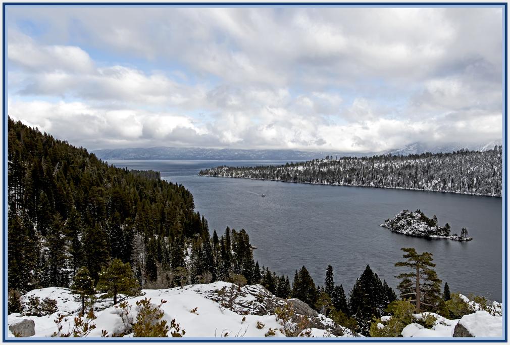 Emerald Bay Lake Tahoe USA