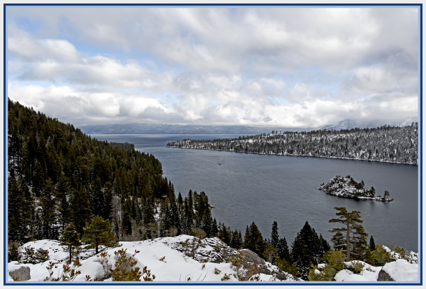 Emerald Bay Lake Tahoe USA