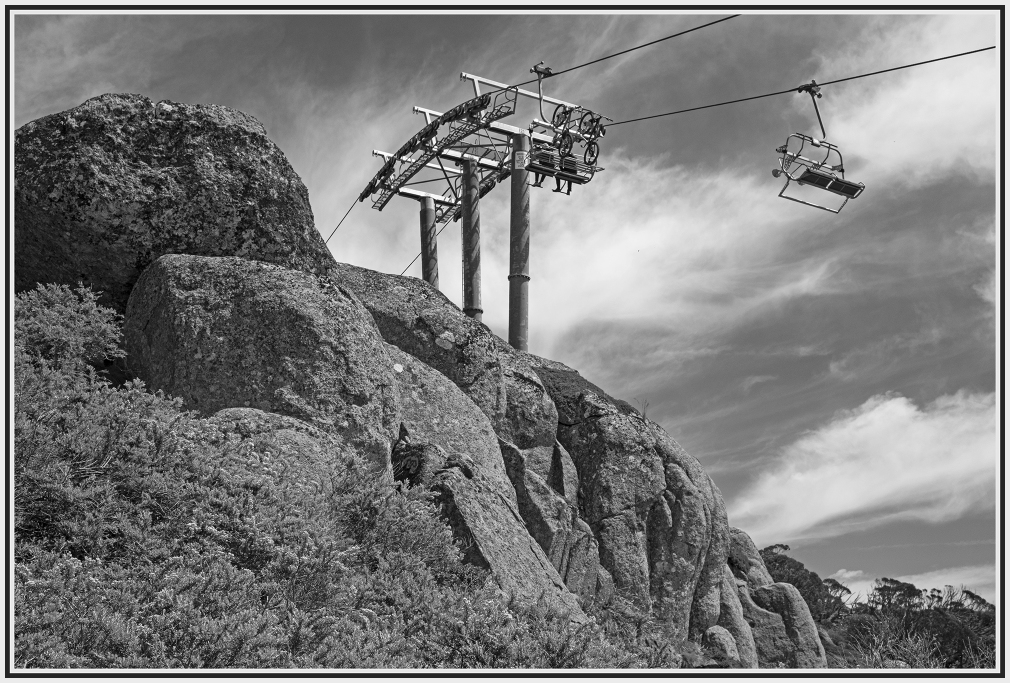 Thredbo Chairlift in summer