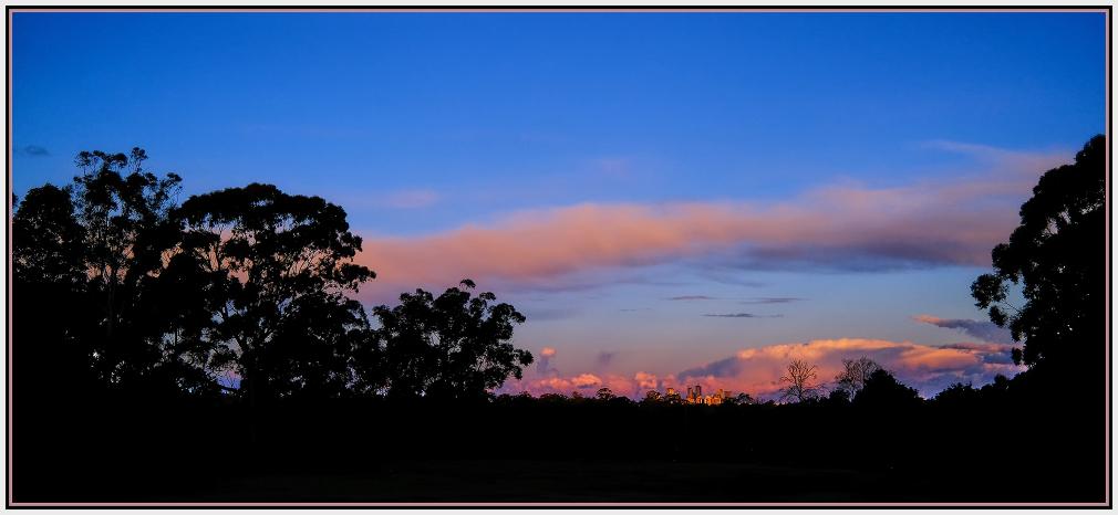 Chatswood Sydney sunset