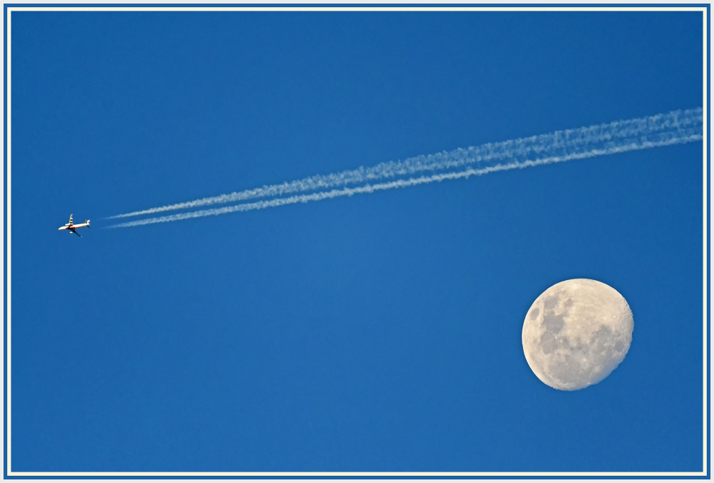 fly over the moon