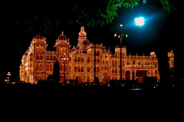 The Palace and the Lights