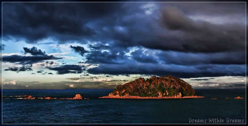 Rabbit Island Sunset.