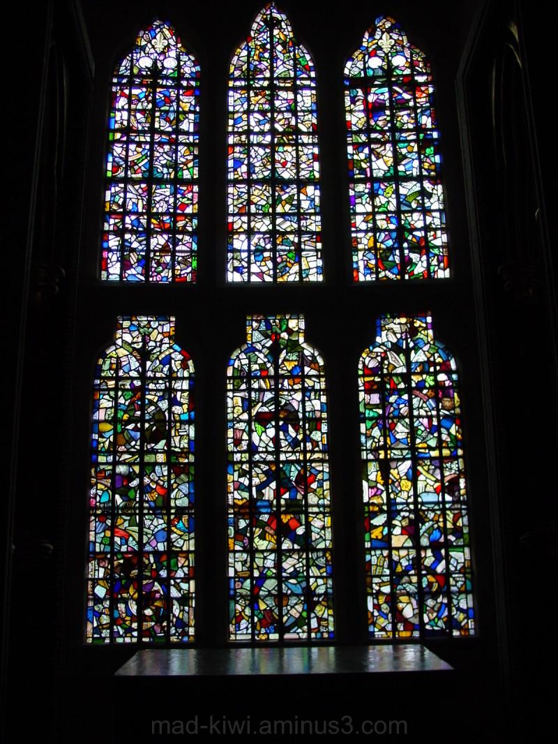 Tower of London Leadlight Window