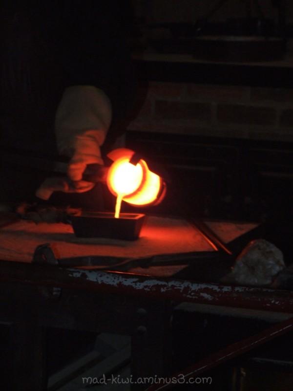 Smelting Gold