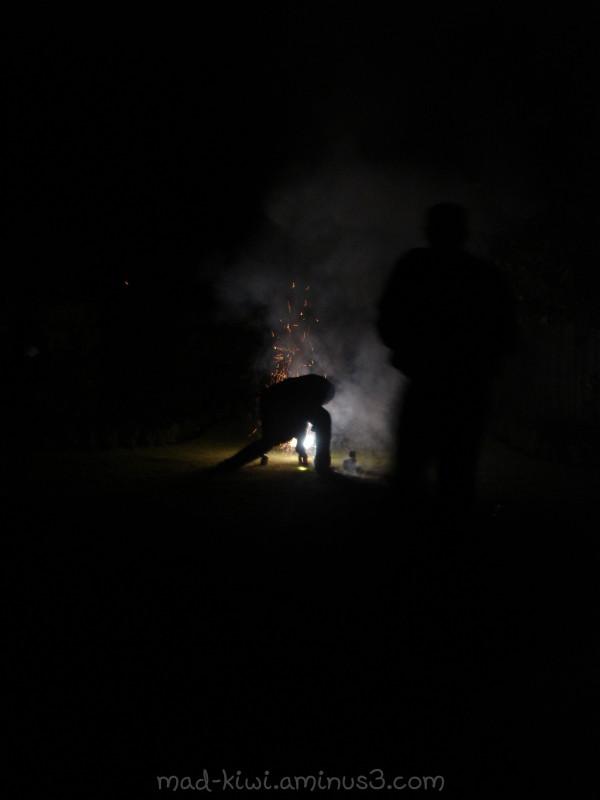 Lighting Fireworks