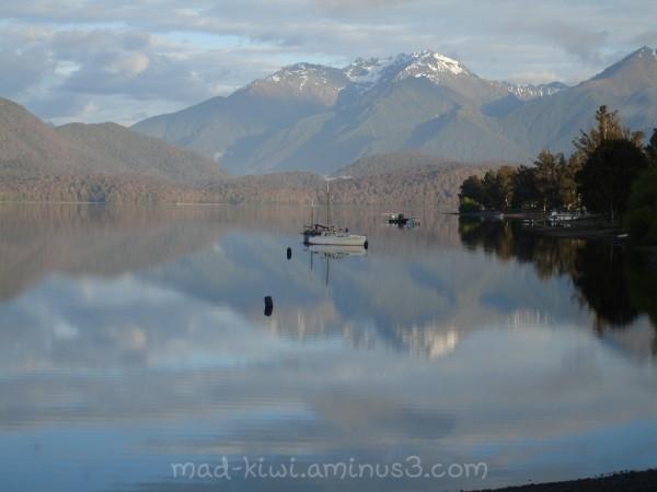Calm morning on Lake Te Anau
