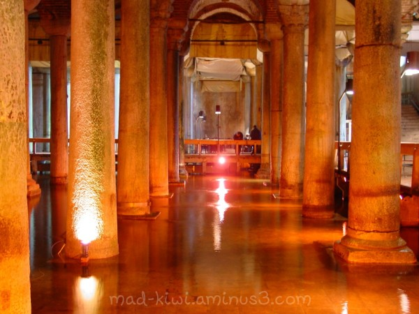 Istanbul's Basilica Cistern