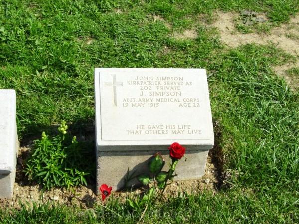 Anzac Grave Marker