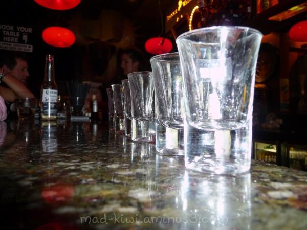 Emply Shot Glass