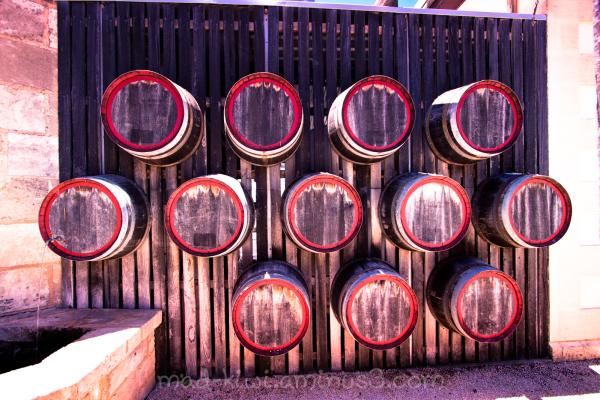 Wall O' Barrels