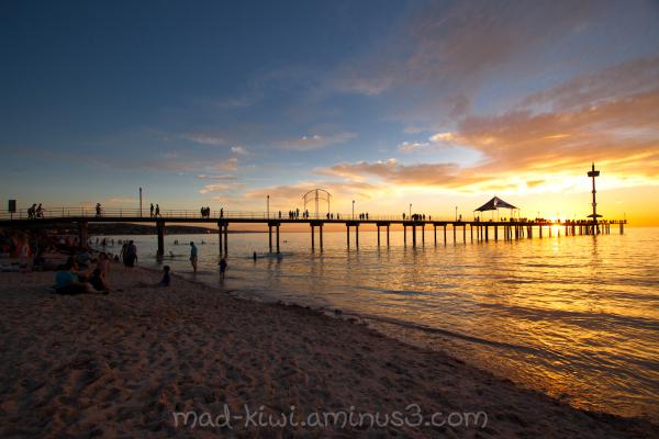 Beach Sunset II
