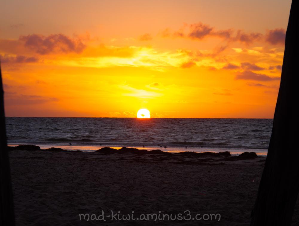 Sunset at Largs