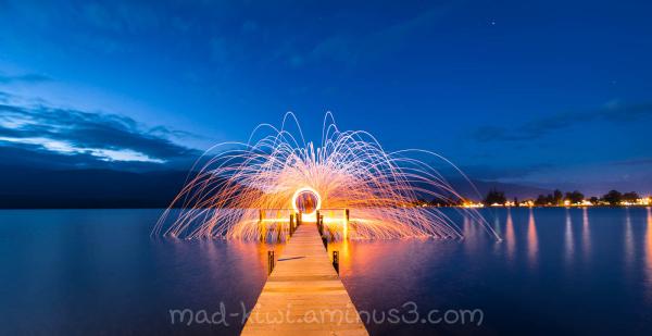 Sparks on the Wharf
