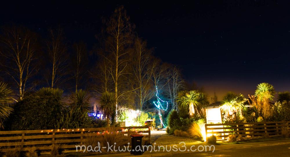 Te Anau Winter Illumination X