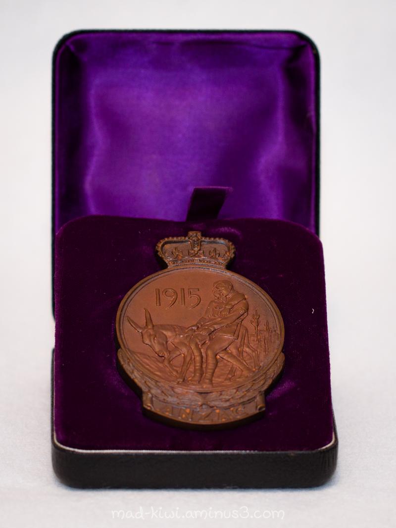 Gallipoli Medallion
