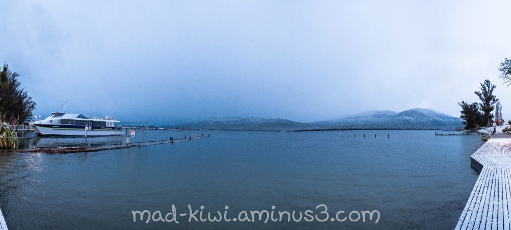 Te Anau Snow Day