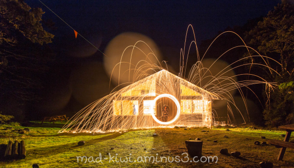 Homer Hut Sparks