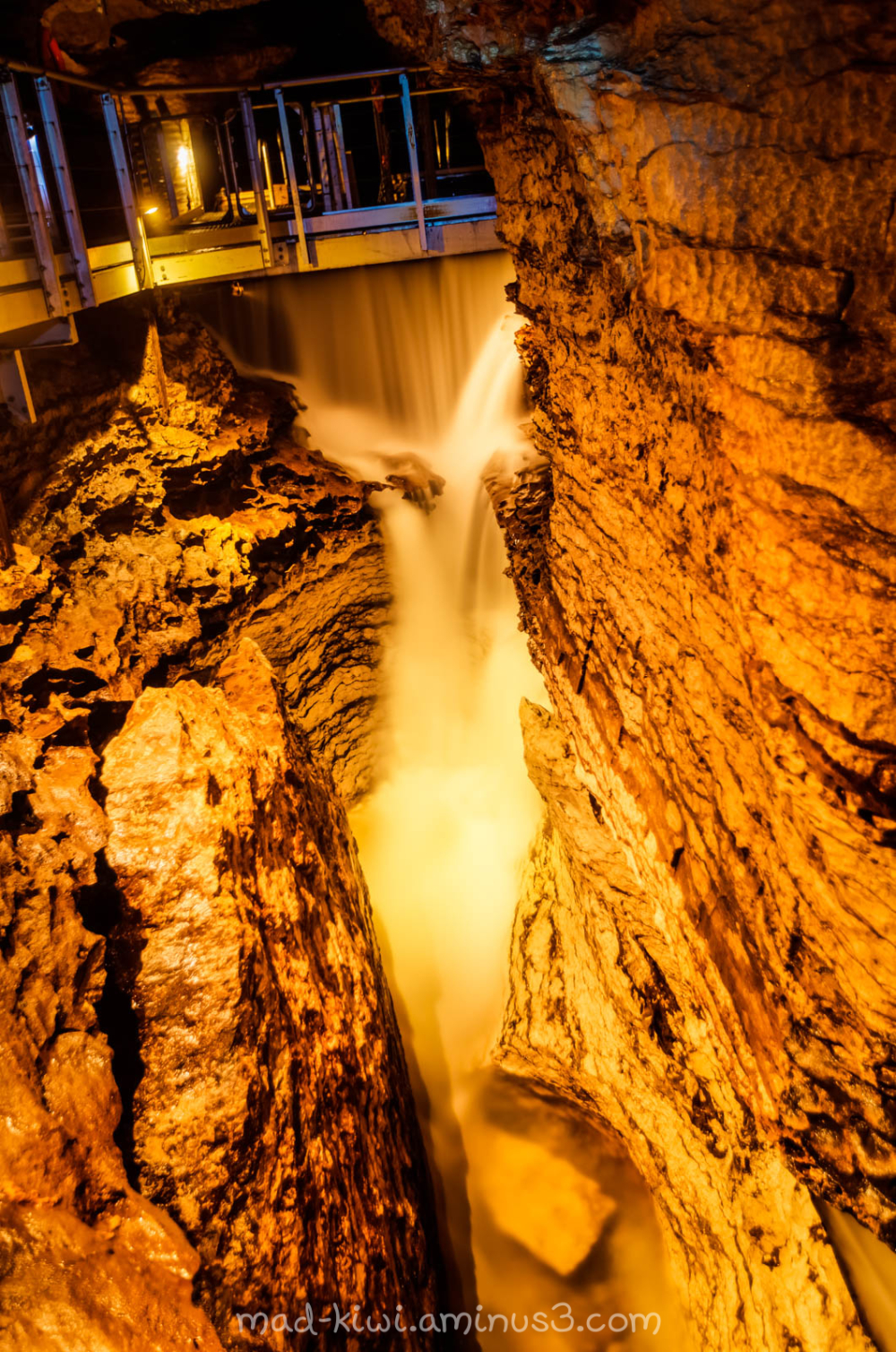 Waterfall at the Dam I