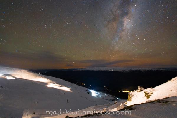 Cardrona Valley at Night I