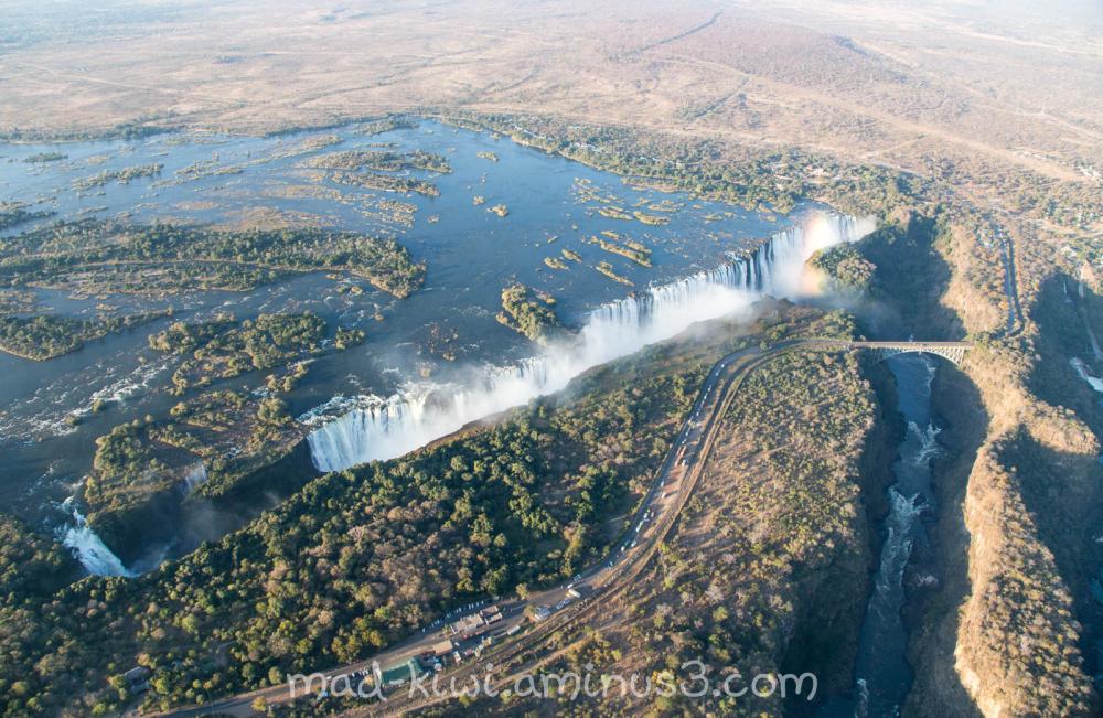 Victoria Falls Helicopter Flight V