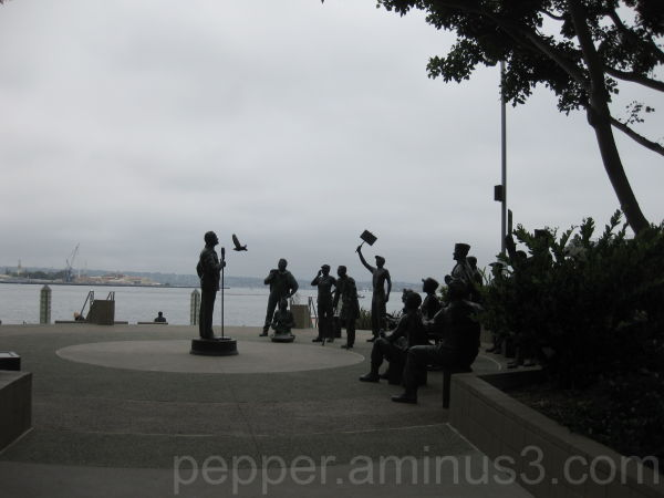 The Bob Hope Statue